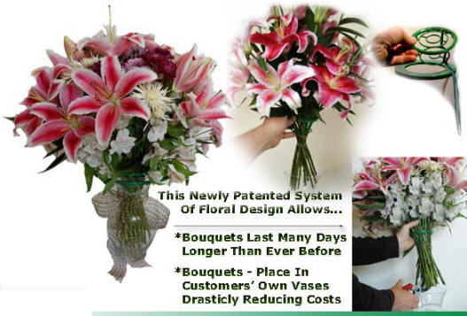 New Pattented System Of Floral Design Allows Bouquets To Last Longer Than Ever Before